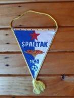 FK. SPARTAK. Football.  Flag/Pennant - Apparel, Souvenirs & Other