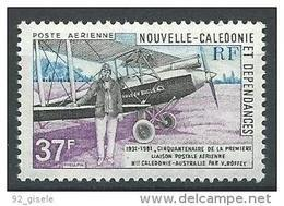 "Nle-Caledonie Aerien YT 219 (PA) "" Avion "" 1981 Neuf** - Luftpost"