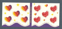 France, Carnet BC3221A, BC 3221A, BC25, BC 25, Carnet Neuf **, Non Plié, TTB, Saint Valentin, Coeur - Carnets