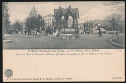 PORTUGAL - O REI HESPANHA EM LISBOA - LE ROI ALPHONSE XIII A LISBONNE - Lisboa