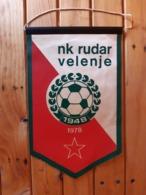 NK. Rudar Velenje Football.  Flag/Pennant - Apparel, Souvenirs & Other