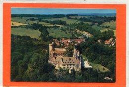03  .VEAUCE  -  Vue Générale Aérienne Et Le Château  . - France