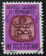 Service 36 Nouvelle Calédonie Et Dépendances Oblitéré  Oreiller De Bois - Dienstpost