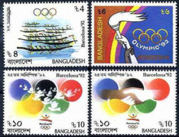 ** Bangladesh - 1992 - Olympic Games 1992 - Mi. 421-4 - Summer 1992: Barcelona