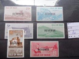 Man Revenue Poste Locale  Monument Serie Luxe ** - Man (Ile De)