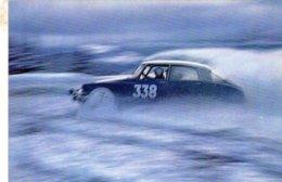Citroen DS19  -  Rallye  -  Carte Postale - Turismo