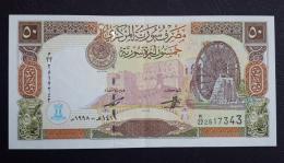 AA- SYRIA 50 Liras 1998 A-UNC - Syrië