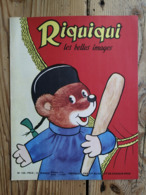 Riquiqui Les Belles Images N°100 : 1960 / Un Joyeuse Surprise / Manèges / Coloriage (Roudoudou-Riquiqui) - Libri, Riviste, Fumetti