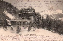 Les Avants 1905 - Grand Hôtel Et La Dent De Jaman - JJ 1962 - VD Vaud