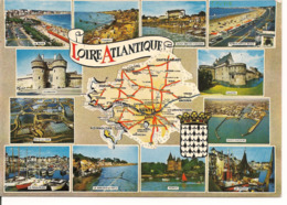 LOIRE  ATLANTIQUE Carte - France