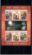Azerbaijan 2010 . Victory In WW II - 65. Sheetlet Of 6 + 3 Labels.  Michel # 799-01 KB - Azerbaiján