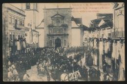 PORTUGAL  - SAHIDA DE S.M.EL REI D.MANOEL II DA IGREIJA DE S.DOMINGOS PELA OCCASIAO DA VISITA A ESTA CIDADE - Lisboa
