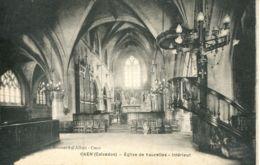 N°77215 -cpa Caen -église De Vaucelles -intérieur- - Caen