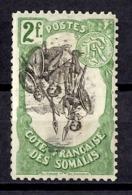 Côte Des Somalis Maury N° 65c Variété Centre Renversé Neuf *. B/TB. A Saisir! - Französich-Somaliküste (1894-1967)