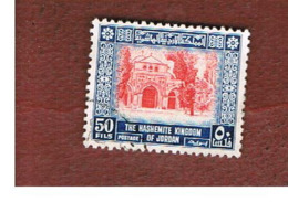 GIORDANIA (JORDAN) -   SG 454  - 1954   AL-AQSA MOSQUE, JERUSALEM       - USED ° - Giordania