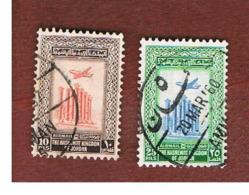 GIORDANIA (JORDAN) -   SG 433.434  - 1954   ARTEMIS TEMPLE, JERASH      - USED ° - Giordania
