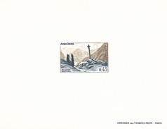 Andorra Francesa Nº 204 En Prueba - French Andorra