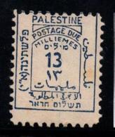Palestine 1923 Mi. 5 MH 40% Postage Due 13 M - Palestine