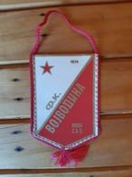 Serbia Football Club Fk Vojvodina Novi Sad Vintage Pennant , Flag - Soccer - Apparel, Souvenirs & Other
