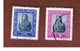 GIORDANIA (JORDAN) -   SG 1107.1111  - 1975 KING HUSSEIN   - USED ° - Giordania