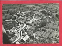 CPSM   Grand Format - Brainville Sur Meuse  -(Hte Marne )-Vue Aérienne -(cachet Au Verso :Colonie St François Brainville - Autres Communes
