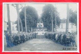 CARTE PHOTO à IDENTIFIER -- 26 Mai 1921 - A Identifier