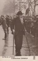 Rare Cpa Fantaisie Patriotique Guerre 14-18 Le Général Garibaldi - 1914-18
