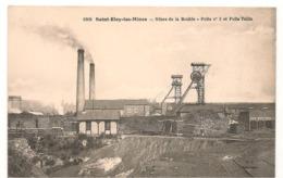 Saint Eloy Les Mines - Mines De La Bouble - Puits N° 3 Et Puits Tollin -  CPA° - Saint Eloy Les Mines