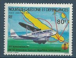 "Nle-Caledonie Aerien YT 247 (PA) "" Avion "" 1985 Neuf** - Luftpost"