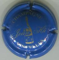 CAPSULE-CHAMPAGNE HU Jean N°01 Bleu & Or - Champagne
