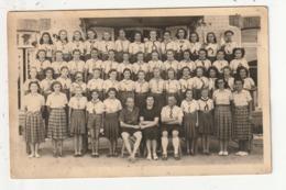 CARTE PHOTO - SAINT PAIR SUR MER - COLONIE DE VACANCES - 1949 - 50 - Saint Pair Sur Mer