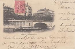 Cp , 75 , PARIS , Pont Du Châtelet - Ponts
