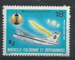 "Nle-Caledonie Aerien YT 252 (PA) "" Avion "" 1986 Neuf** - Luftpost"