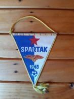 Vintage Pennant SPARTAK 1945 - Apparel, Souvenirs & Other