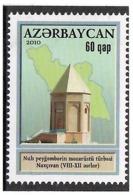 Azerbaijan 2010 . Architecture Of Nakhchivan. 1v: 60q.  Michel # 808 - Azerbaiján