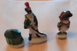 3 Fèves Napoléon Austerlitz - Personnages