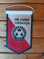 Vintage Pennant NK.Rudar Velenje 1978 - Apparel, Souvenirs & Other