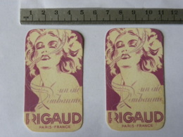 Carte Parfumée - RIGAUD PARIS - Un Air Embaumé - Cartas Perfumadas