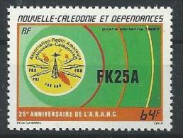 "Nle-Caledonie Aerien YT 254 (PA) "" Radio "" 1987 Neuf** - Luftpost"