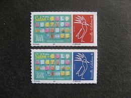 """Nouvelle-Calédonie: TB  Paire """" Salon Des Collectionneurs 2019 """" , Neufs XX . - Unused Stamps"""