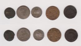 Lot De 5 Monnaies - Francia