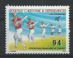 """Nle-Caledonie Aerien YT 256 (PA) """" Cricket """" 1987 Neuf** - Luftpost"""