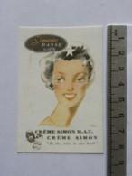 Carte Parfumée - Crème SIMON - Simone Danse - Perfume Cards