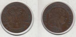Haïti  1 Centime 1881  An 78 - Haiti