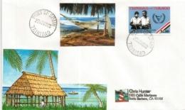 Belle Lettre De PORT Of SPAIN, Adressée En Californie, Année 2003 - Trinité & Tobago (1962-...)