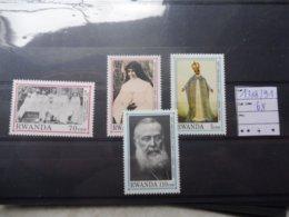 Rwanda 1388/91 Bonne Serie Neuve ** ( Religion ) - Rwanda