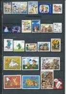 254 TPE -TIMBRES BANDES DESSINÉES Et DESSINS ANIMÉS - 23 TP OBLITERÉS - Comics