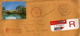 Lettre Recommandée De Trinidad & Tobago. TTPOST, Adressée Etats-Unis (Laredo), Avec Timbre à Date Arrivée 2003 - Trinité & Tobago (1962-...)
