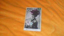 CARTE POSTALE ANCIENNE CIRCULEE DE 1908../ BONNE ANNEE...CROISSANT PARIS...CACHET + TIMBRE - Nouvel An