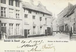 CPA / AK / PK   -   HASSELT  Maison Du Marché Au Laitage - Hasselt